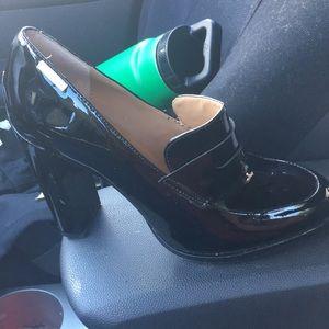 Calvin Klein loafer heels